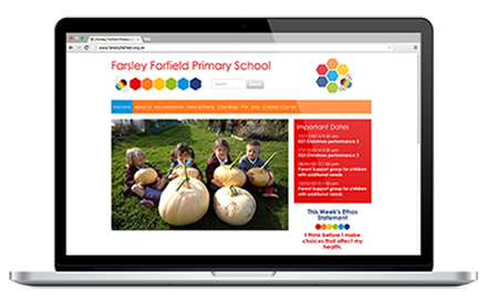 Farsley Farfield Primary School website